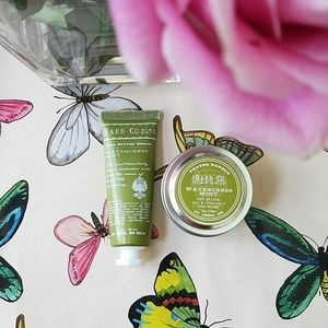 NEW Barr & Co. Watercress Mint Travel Duo
